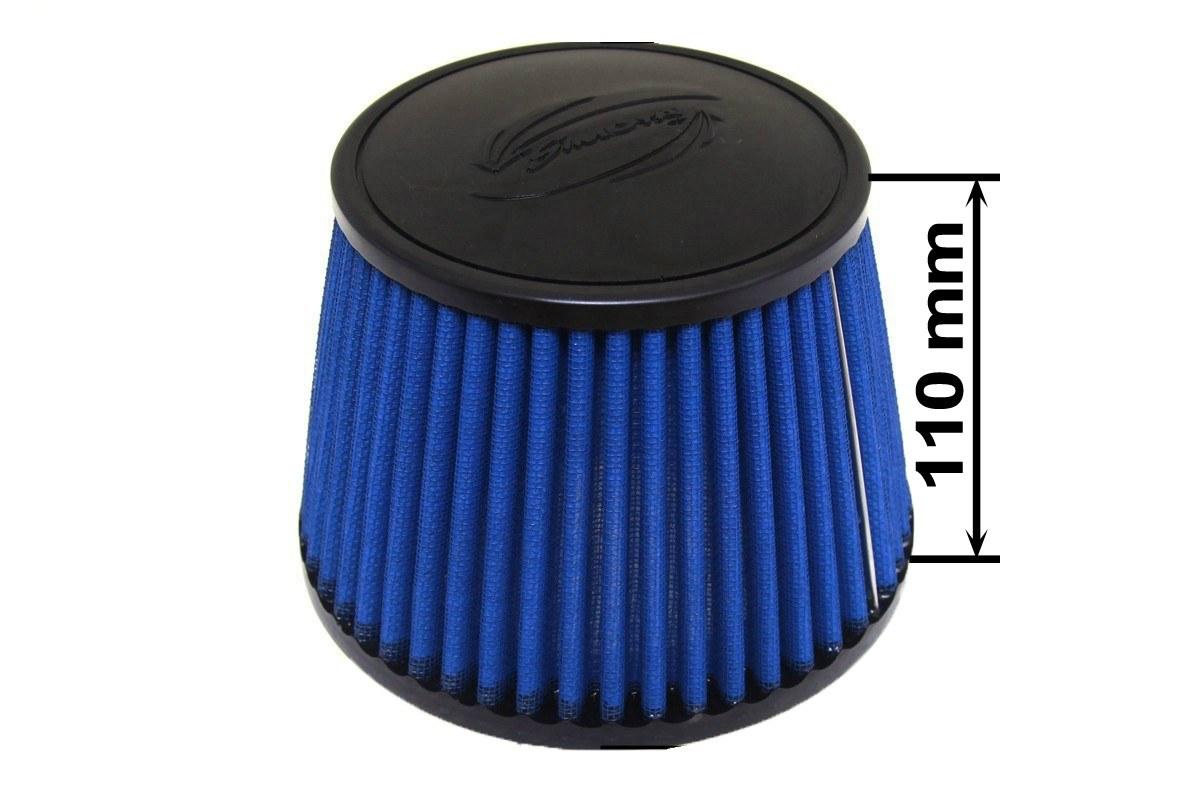 Filtr stożkowy SIMOTA JAU-I04201-03 114mm Blue - GRUBYGARAGE - Sklep Tuningowy
